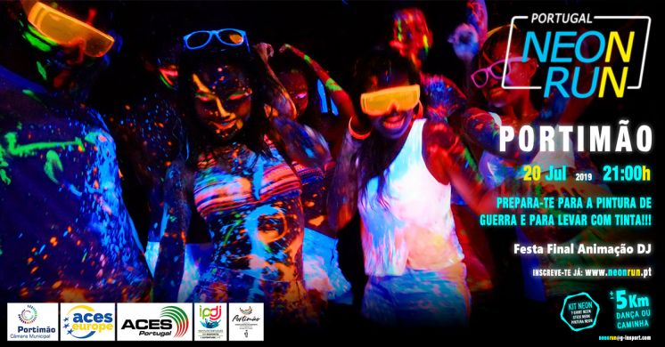Neon Run Portimão 20 Jul 21h00