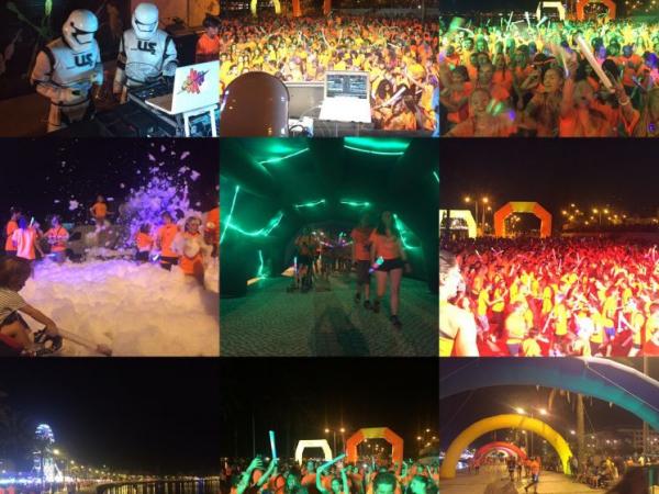 Neon Run Tour 2016, foi um grande sucesso.