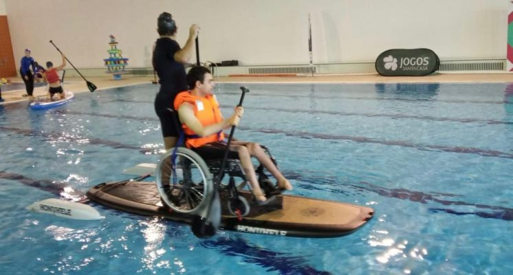 PRANCHA DE STAND UP PADDLE PARA SUP ADAPTADO